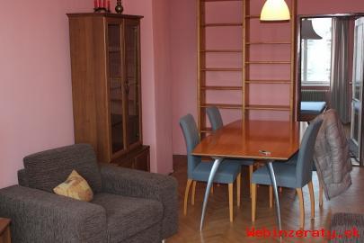 Prenajom 2-izbového bytu (58m2) od 1. 3.