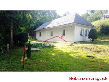 útulný domček v tichej lokalite obce Sli