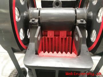 Mobilná čeľustová drvička 200x300mm