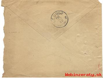 Obálka listu Lipník n. Bečvou z r. 1915