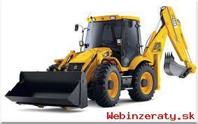 Zemné práce,kopanie JCB 4 CX -Ponuka