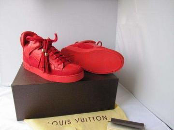 Louis vuitton topánky tenisky dons red, inzeráty oblečenie