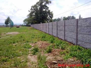 Betonové ploty - AKCIA