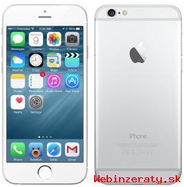 nový biely Apple Iphone 6 16GB-BA+celáSR