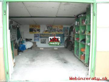 Kvalitná garáž na Jiráskovej