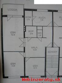 Pekný 3-izbový byt s garážou v Ivanke