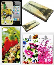 Zadné kryty na mobily iPhone a Xperia