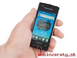 Sony Ericsson RAY white