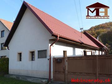 Predaj rodinný dom Domaníky