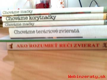Predám knihy o zvieratkách