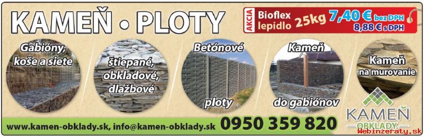KAMEN -  OBKLAD  -  PLOTY