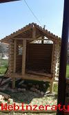 Predám nahladko frézované drevené stĺpy