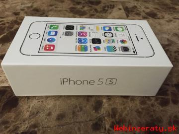 Značka iPhone 5S 64GB nová továrna odemč