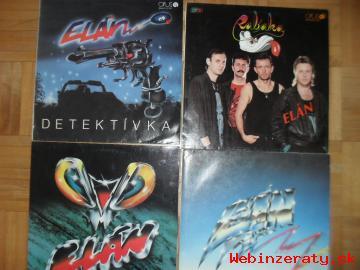 Slovenské LP platne - sú ako nové