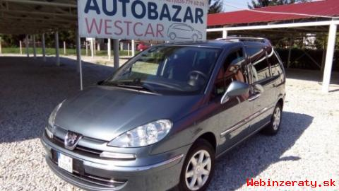 Peugeot 807 2. 0 HDI FAP 136k Privilége