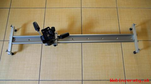 slider + hlava Manfrotto 808RC4