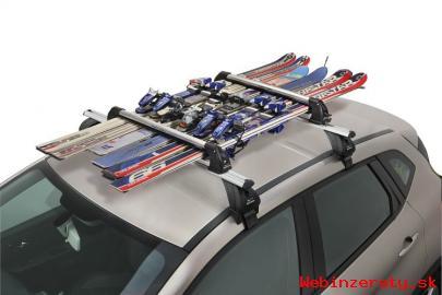 Strešné nosiče a boxy, nosiče lyží a bic
