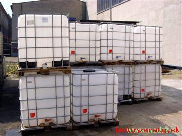 IBC kontajner - plastová nádrž