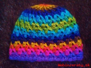Predám háčkované čiapky