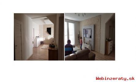 Predaj nadštandardného 4 izbového bytu.