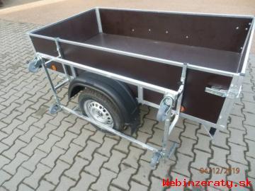 Stojan-kolíska na prívesný vozík