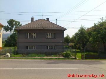Rodinný dom Veľké Teriakovce Predaj.