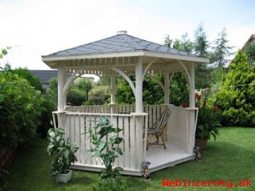 Zahradní altány s montáží