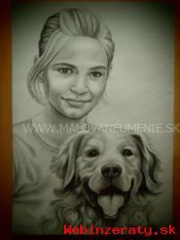 Profesionalna Umelecka Kresba z Foto