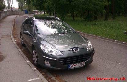 Peugeot407SW.  2. 0HDI,100kw