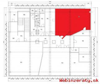 Žilina Vlčince II - nebytové priestory
