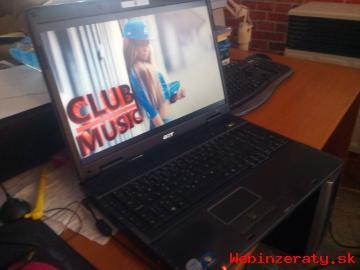 Predám 17palcový notebook Acer Extenza