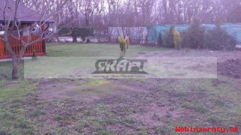 RK-GRAFT ponúka 2-izb.  chatu /4r. /