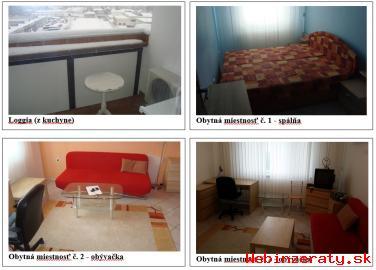 Prenajmeme 2-izbový byt na Hraničnej uli