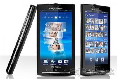Sony Ericsson Xperia X10 - pokazený kont