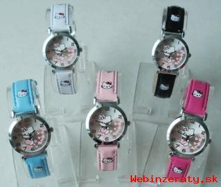 Krásne štýlové Hello Kitty hodinky.