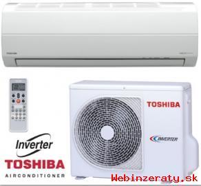 Klimatizácia zn.  Toshiba
