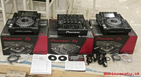 2x Pioneer CDJ-2000NXS2 / Pioneer DDJ-SZ