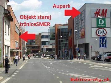 Žilina centrum - obchodný priestor 48 m2