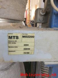 dvojvrecove odsavanie MTS MO 2200