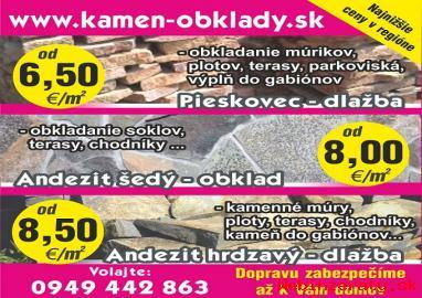 Prírodny kamen-Predaj