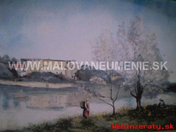 Exkluzívne Ručne Maľované Obrazy