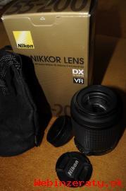 Predám objektív NIKKOR 55-200mm f/4-5. 6