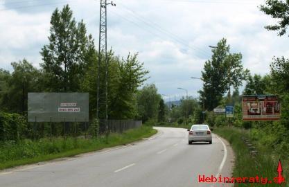 Prenajmeme reklamné plochy - Orlové PB