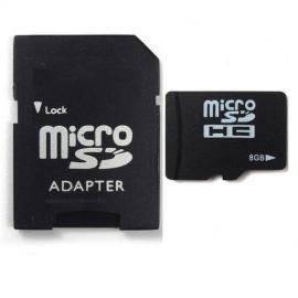 Predám microSD 8GB SanDisk + adapter na