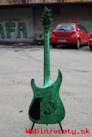 Predám gitaru Jackson SLS-3 Green Swirl