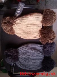 Predám mäkkučké, dámske, zimné čiapky.