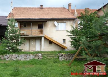 Predaj obývateľný rodinný dom Dobrá Niva
