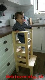Učiaca veža - Montessori learning tower