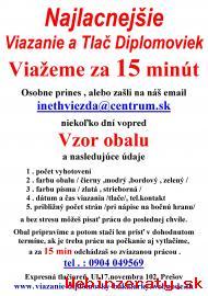 Diplomovky Prešov- Viazanie diplomoviek