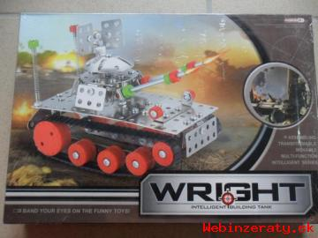 Kovová stavebnica – Tank, skvelý darček